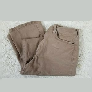 Lee Relax Fit Jeans Tan At The Waist med